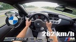 BMW Z4 35is Test Drive POV Autobahn 262 km/h TOP SPEED Sound & Acceleration