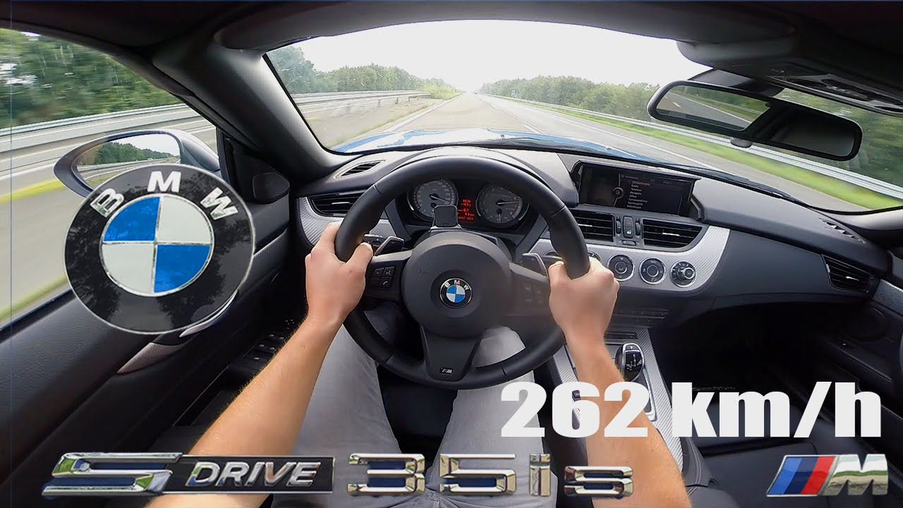Bmw Z4 35is Test Drive Pov Autobahn 262 Km H Top Speed
