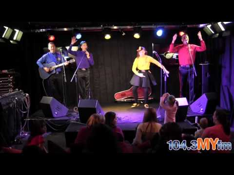 The Wiggles LIVE In-Studio at 104.3 MYfm
