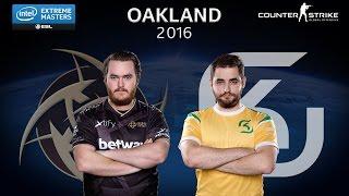 CS:GO - NiP vs. SK [Train] Map 1 - Grand Final - IEM Oakland 2016