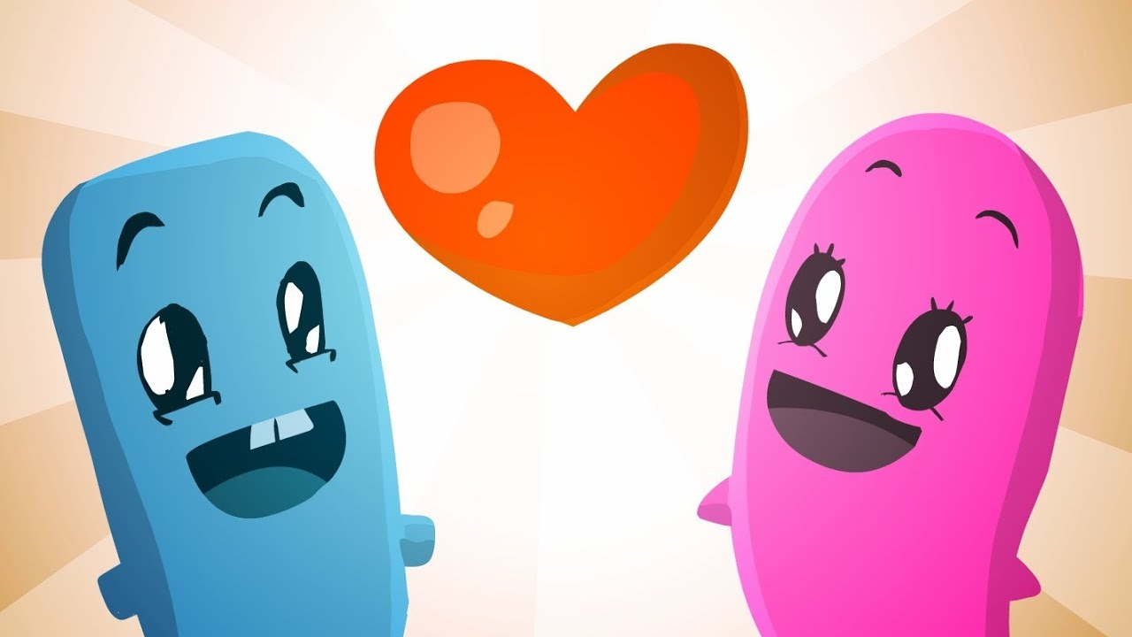 Image of: Kiss Youtube Short And Sweet Cute Animation Youtube