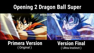 OPENING 2 VERSIÓN FINAL (ULTRA INSTINTO FINAL) DRAGON BALL SUPER