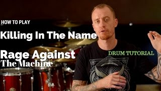 Killing In The Name Rage Against The Machine Video Drum Lesson Sample