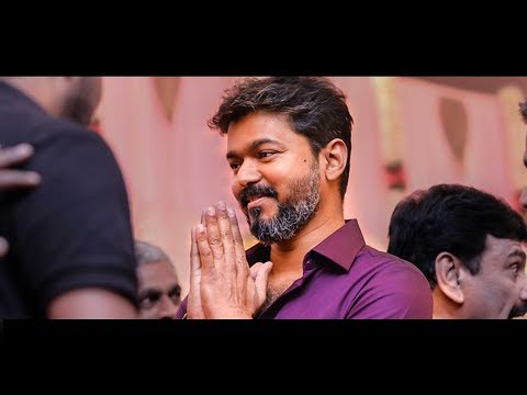 VIDEO: Thalapathy Vijay's Candid Moments in Ramesh Khanna son's Wedding | Sarkar