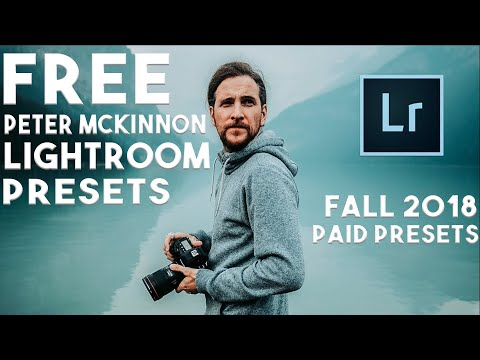 FREE PETER MCKINNON FALL 2018 PRESET PACK (AND HOW TO USE THEM