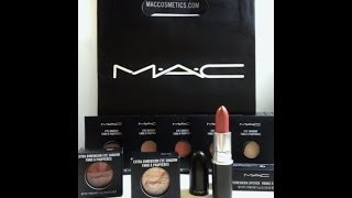 MAC Magnetic Nude Collection/Swatches + MAC Eye shadow Haul!! Thumbnail
