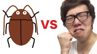【恐怖】ヒカキン vs ゴキブリ!バトルして大発狂! thumbnail