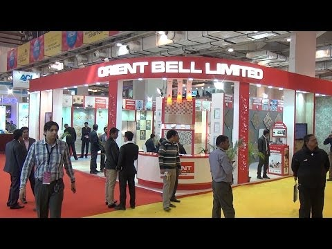 Orient Bell : ET AceTech 2013 Exhibition : Pragati Maidan : New Delhi