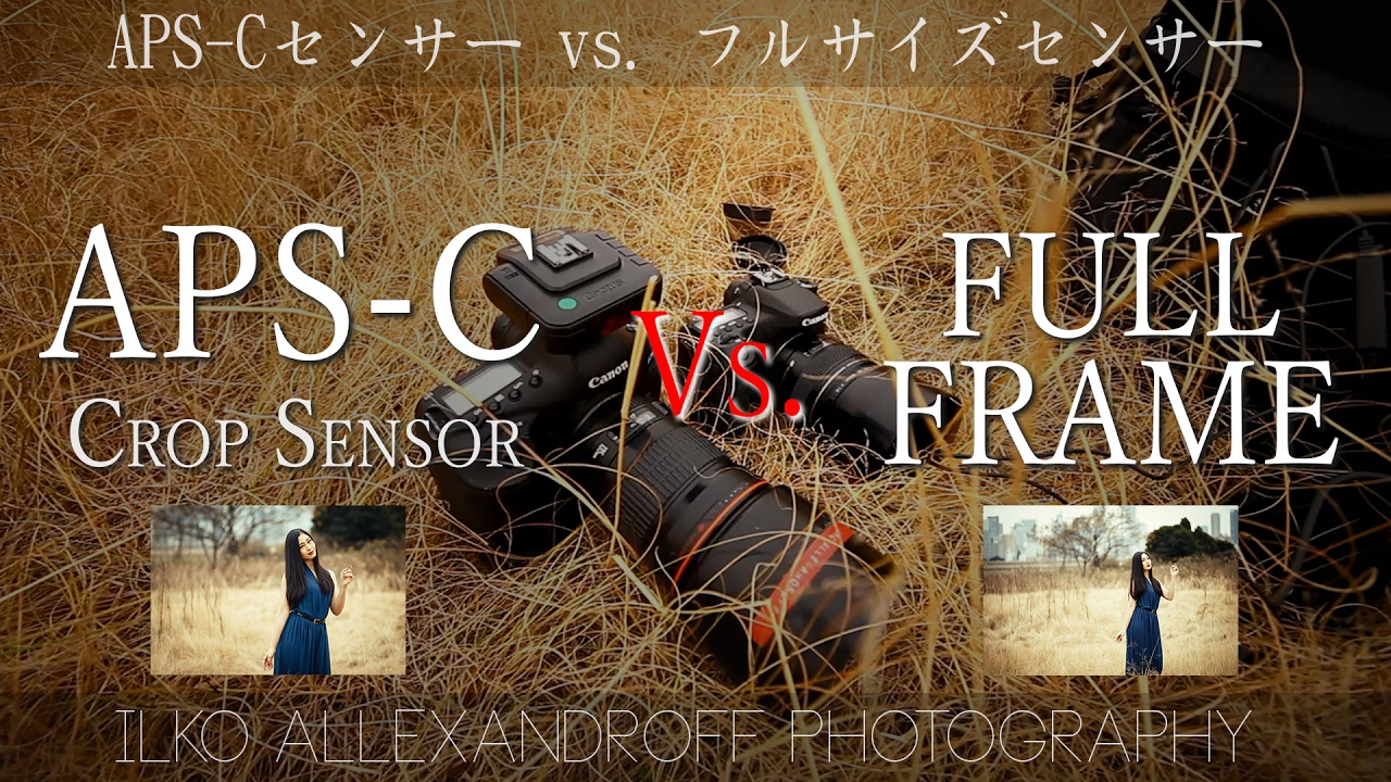 APS-C Crop Sensor vs. Full Frame Sensor DSLR comparison with 85mm ...