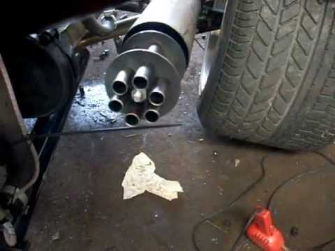 Tailgunner Home Made Minigun Exhaust Youtube
