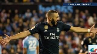 Real Madrid vence 4-2 al Celta de Vigo en el último partido de prueba de Solari