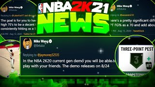 NBA 2K21 - *NEW* SHOT AIMING SYSTEM EXPLAINED, INSTANT JUMP SHOT CREATOR, NEW TAKEOVERS & MORE NEWS