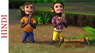 Bal Hanuman - Return of the Demon - The Funny Prayer - Animated Comedy Scene