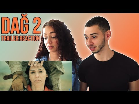 DAĞ II 🇹🇷 Turkish Movie Trailer Reaction | Jay & Rengin