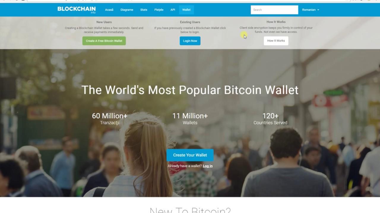 Portofel Virtual Bitcoin Wallet 2017