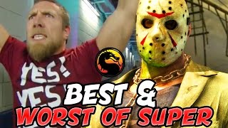 THE BEST AND WORST OF SUPER #6 - Mortal Kombat X: MY FAVORITE MATCH EVER (Mortal Kombat XL Montage)