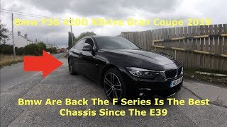 2019 Bmw F36 4 Series 420D X Drive Gran Coupe M Sport Review & First Impressions