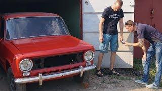 ВЛАДЕЛЕЦ ЖИГУЛЯ приехал в гости и делает обзор на восстановленный ВАЗ 2101