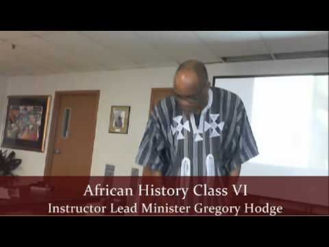 pt2 African History Class VI