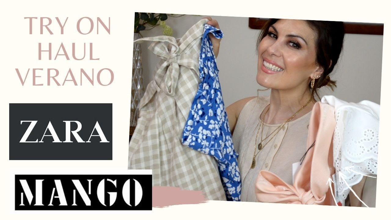 Try on haul verano Zara y Mango