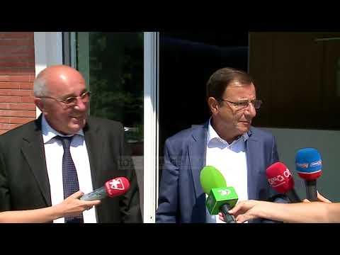 Mustafaj e Ruli takojnë Bashën, i pranishëm edhe Berisha - Top Channel Albania - News - Lajme