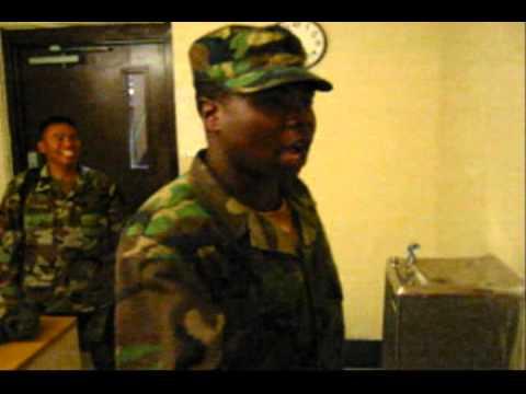 Drill Sergeant Impression