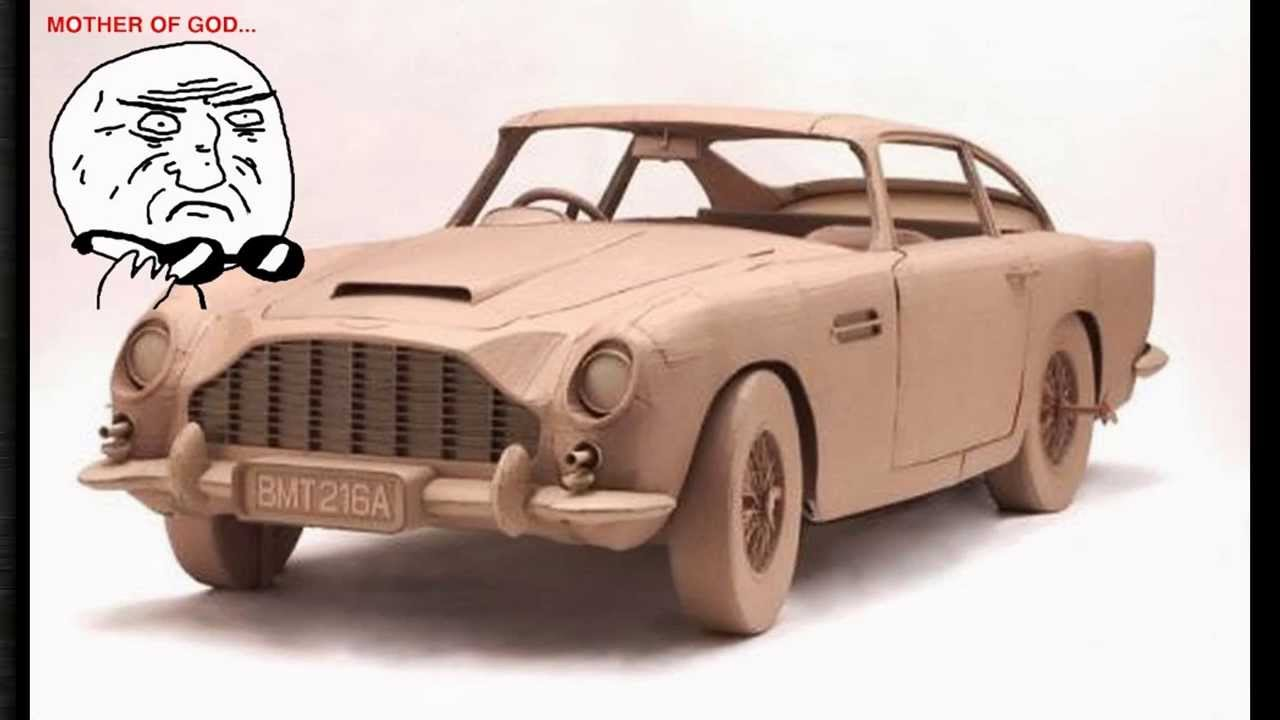how to make a car from a cardboard