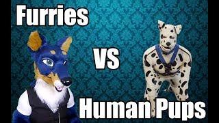 Furries VS Human Pups