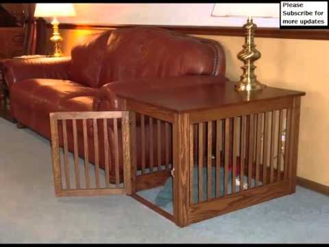 Dog Cage End Table Set Of Useful Picture Ideas Dog Cage End Table