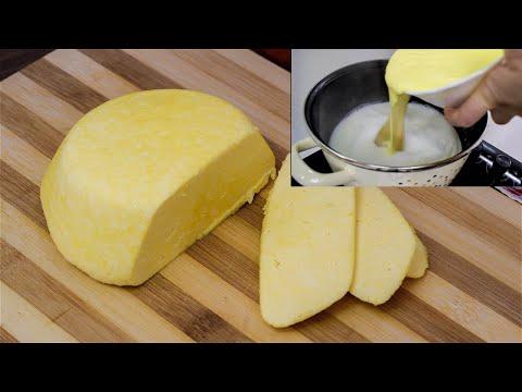OVO BI SVAKA DOMAĆICA TREBALA DA ZNA: Napravite domaći sir brzo i jednostavno / Kako napraviti sir