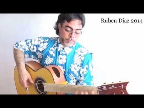 """Quiroga por Bulerías """"Canción  Andaluza""""+Tab(Andalusian Song)Paco de Lucía's Album 2014/Ruben Diaz"""