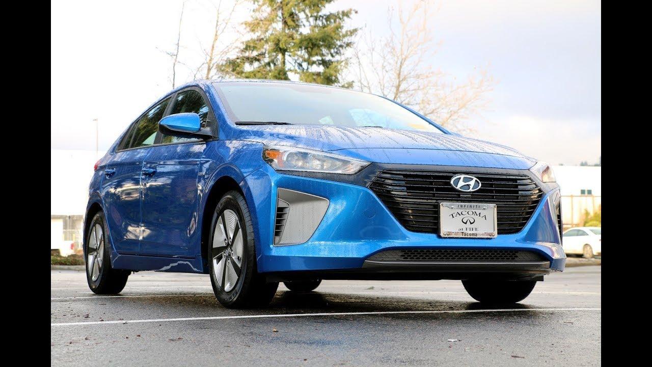 Hyundai Ioniq обзор