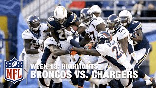 Broncos vs. Chargers | Week 13 Highlights | NFL