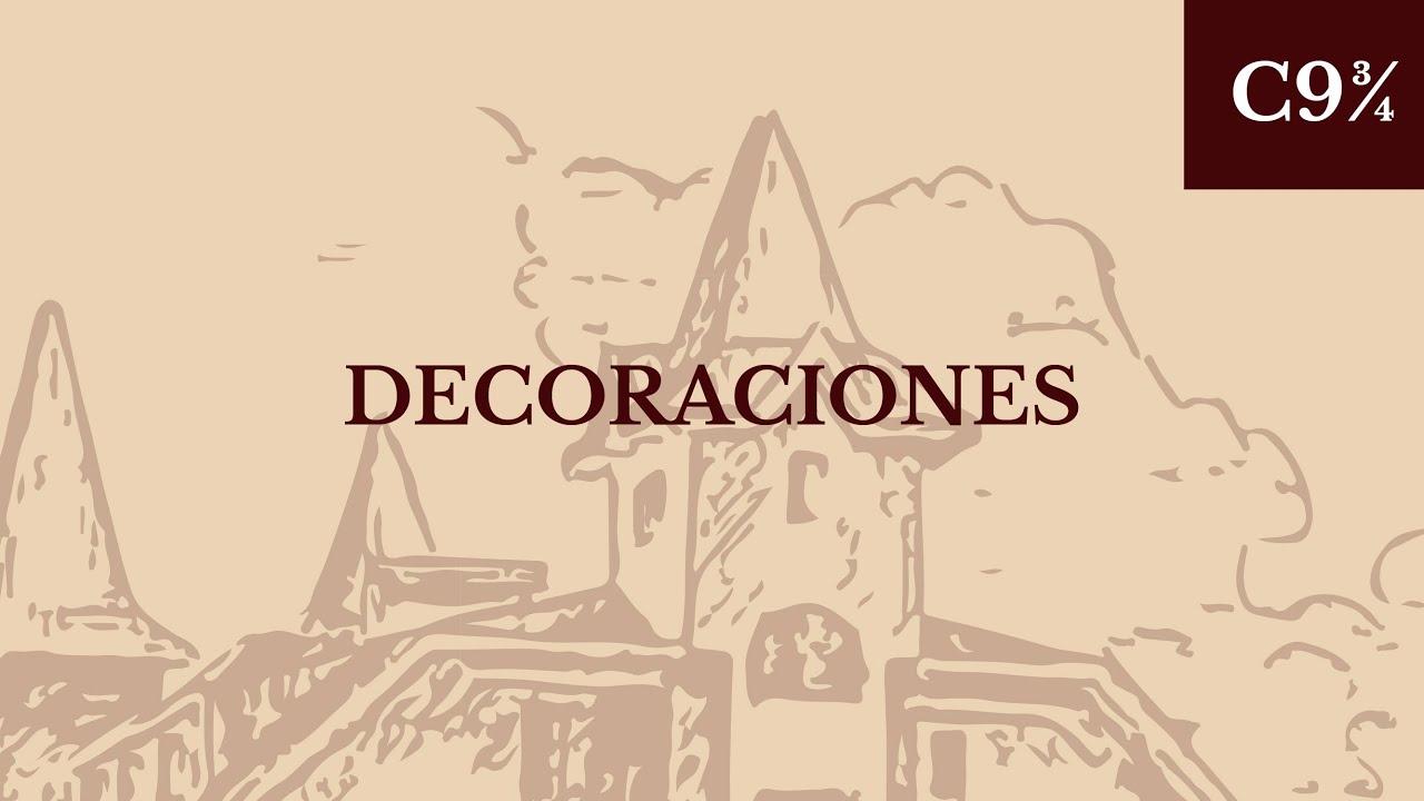 Decora tu habitaci n con magia diy canal 9 for Harry potter cuartos decoracion