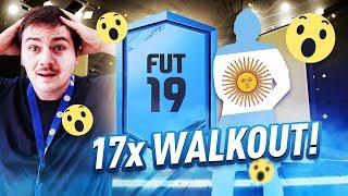 3 WALKOUTY W JEDNEJ PACZCE HIT! 17x WALKOUT - NAGRODY ZA FUT CHAMPIONS, ZA 125.000! | FIFA 19
