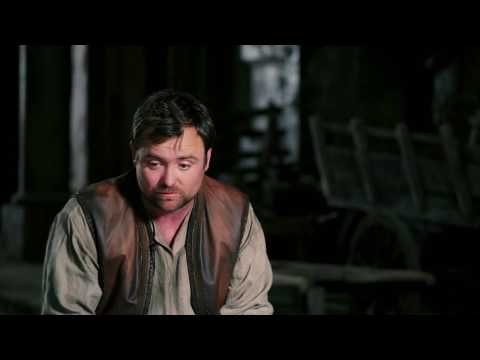 "King Arthur: Neil Maskell ""Back Lack"" Behind the Scenes Movie Interview"