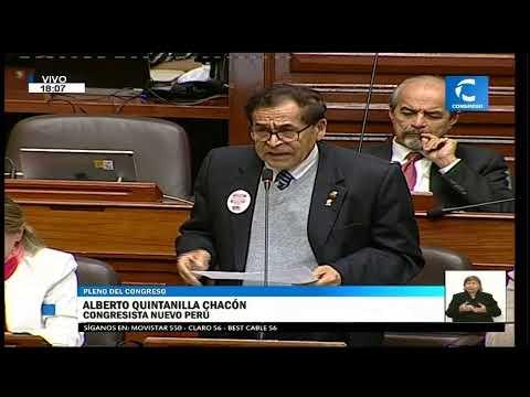 #ENVIVO Debate en el pleno del Congreso sobre impedimentos para ejercer la función pública