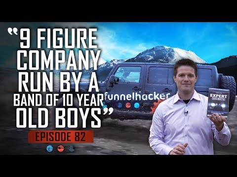 Funnel Hacker TV Episode 82 - Russell Brunson Busts Out The Pyro In New Expert Secrets Ads!