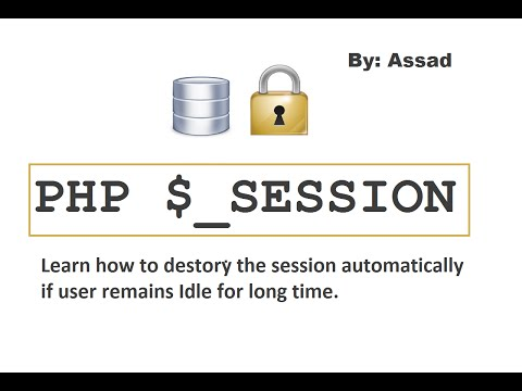 PHP5 Auto Session Timeout. Learn How to?  (English)
