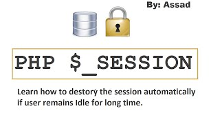 PHP Auto Session Timeout. Learn How to?  (English)