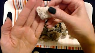 ASMR   Rock Collection Show & Tell (Whisper)