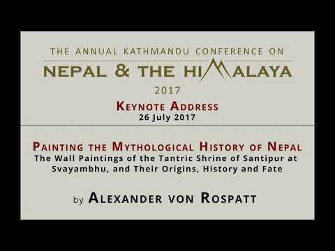 Painting the Mythological History of Nepal