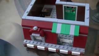 Lego 10218 Modular Building Pet Shop Unboxing And Review