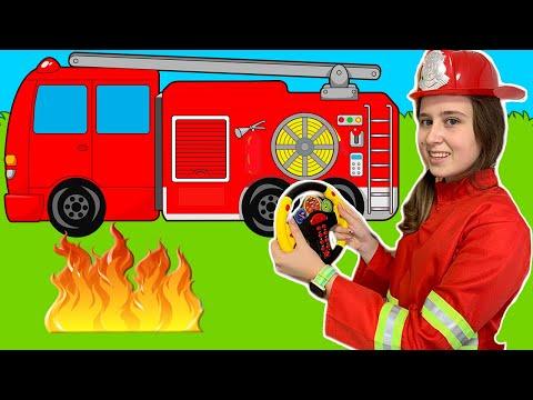 Firefighters на Русском | Песенка про пожарного