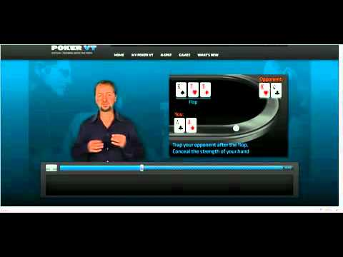 Setting A Trap With AA With Daniel Negreanu