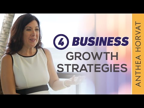 The 4 Business Growth Strategies