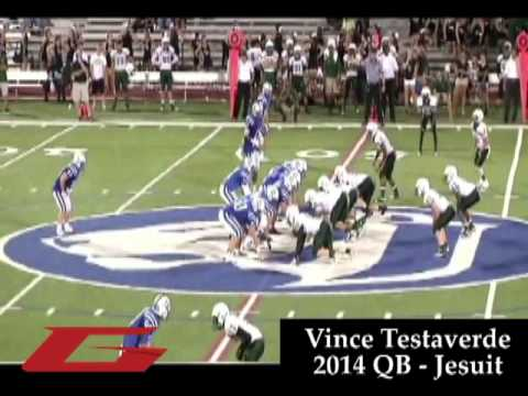 2014 QB Vincent Testaverde (Tampa, FL/Jesuit)