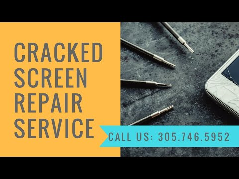 Best Cracked Screen Repair Cost For Mobile devices Palm Beach FL