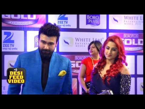 Aarya Babbar at Zee Gold Awards 2016 - Special Interview