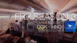 Garuda Indonesia Regional Business Class Experience | GA874 HND - CGK